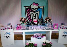Decoração de Festa com Monster High (3)