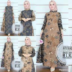 62 Model Gamis Batik Terbaru Populer 2020 – CuanLagi.Com Model Kebaya, Batik Solo, Kebaya Muslim, Ethnic, Fashion Trends, Dresses, Store, Craft, Modern