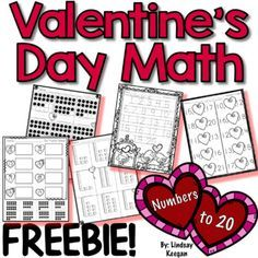 Valentine's Day Math - Numbers FREEBIE!