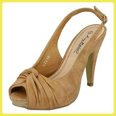 Carlita Cove - Escarpins - Femme - Beige (Sand Patent) - 37.5 EUClarks 6LG1IASmi3