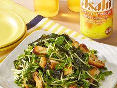 シャキシャキ豆苗の海苔ごまサラダの画像