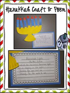 Hanukkah Craft & Poem