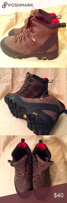Wenger Women's Hiking Boots Absolutely wonderful hiking boots! I bought them online and only wore them once because I really needed a half size bigger. Vibram soles. This company is known for only making quality products including the Swiss Army Knife! Wenger Shoes