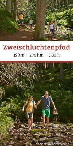 Wandern auf dem Zweischluchtenpfad – ein toller Ausflug für die ganze Familie. Die Tour führt  inmitten des Waldes durch die Rötenbach- und Wutachschlucht.   #schwarzwald #outdoor #wandern #wanderung #wanderlust #ausflug #familie #reisetipps