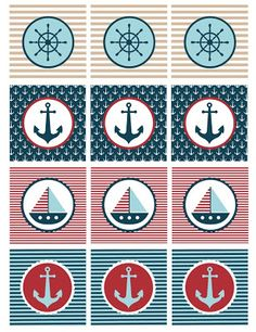 Nautical Baby Shower Printables