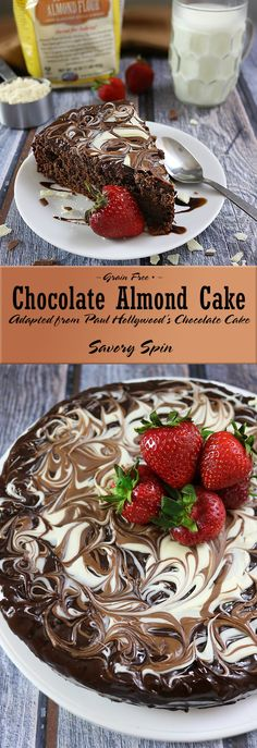 Gluten Free/Grain Free Chocolate Almond Cake adapted from Paul Hollywood's Recipe!