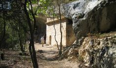 Chapel St Michel d'Anesca at the bottom of the Gorge de la Nesque, Provence...such a peaceful place.