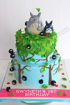 11 tartas de Totoro tan monas que no te las querrás comer