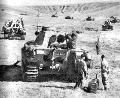 Large numbers of Panther Ausf D tanks during the opening phase during the Battle of Kursk