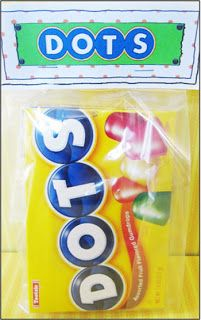 """Missionary Candy Sayings """"Dots""""   Depend on the Savior"""