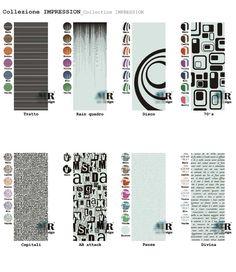 Collezione IMPRESSION_IMPRESSION Collection di #MRartdesign