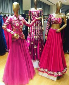 Beautiful Hand Embroidered Georgette-Silk and silk Lehenga with beautiful western modern blouse. Wedding Dresses For Girls, Indian Wedding Outfits, Party Wear Dresses, Indian Outfits, Custom Dresses, Modest Dresses, Stylish Dresses, Indian Bridal Lehenga, Indian Bridal Fashion