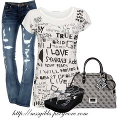 """Words of Wisdom"" by mssgibbs on Polyvore"
