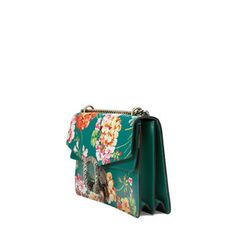 Dionysus Blooms print shoulder bag by GUCCI. Oh, what fun it is.