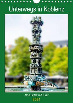 Unterwegs in Koblenz - eine Stadt mit Flair Eine spannende Fotoreise mit bekannten Sehenswürdigkeiten von Koblenz. (Planer, 14 Seiten ) Burj Khalifa, Planer, Utility Pole, Germany, Building, Travel, Products, Decoration, Pictures