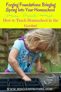 Check out the 20 ways of teaching homeschool in the garden. There are a TON of resources, activities, fun learning ideas Spring Activities, Fun Activities, Nature Study, Home Schooling, Teaching Math, Life Skills, Fun Learning, Lesson Plans, Curriculum