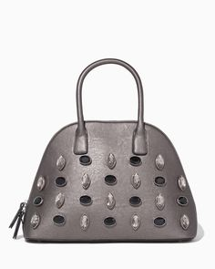 37e8e20104c8 charming charlie | Morgan Jeweled Satchel #charmingcharlie Wristlet Wallet,  Hobo Bag, Diaper Bag