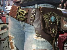 Hip Bags to Compliment your style    DIY Fashion Sense  #Steampunk #fashion