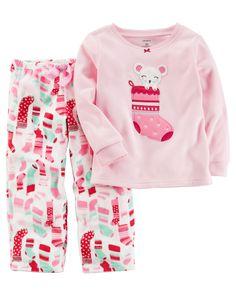 Baby Gap Long Sleeve Pajama Happy Holidays Penguin 2T 3T 4T