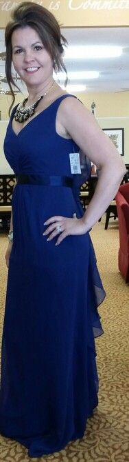 Bridesmaid dress front