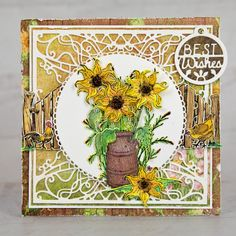 Heartfelt Creations - Bright Golden Wishes