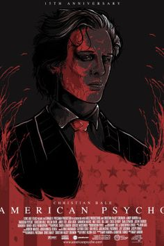 Anniversary American Psycho poster for AMP competition. Designed by J-Monster Art Horror Movie Posters, Cinema Posters, Horror Movies, Horror Art, Play Poster, Movie Poster Art, Badass Movie, Non Plus Ultra, Best Movie Posters