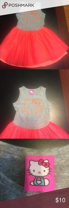 Hello Kitty Girls S(6/6X) Hello Kitty Girls S(6/6X)j Dress Pre-Loved Hello Kitty Dresses Casual