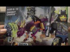 Kre O Transformers Dinobot Charge with Drift and Slug Toy Review