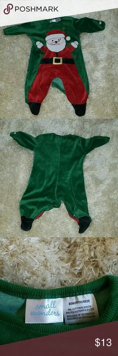 Small  wonder baby 1st Christmas Infant outfit This was used only once for picture is in new condition. Great for baby 1st Christmas. small wonders Other
