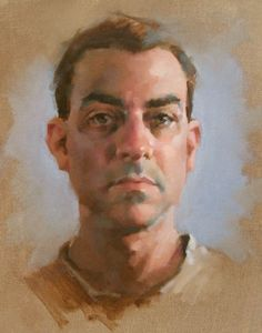 14 x 11 Self Portrait - Jeff Haines
