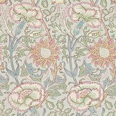William Morris Pink & Rose Tapet