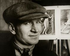Alexander Rodchenko - Portrait du Sculpteur Anton Lavinsky, 1924