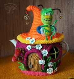 Maria-Angélica Angel Tea Cosy Knitting Pattern, Crochet Mandala Pattern, Crochet Toys Patterns, Amigurumi Patterns, Stuffed Toys Patterns, Crochet Fairy, Crochet Home, Crochet Gifts, Crochet Dolls