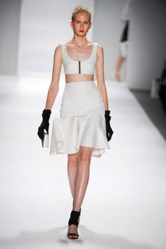 Milly by Michelle Smith S/S 2014   SHOWING OFF THE CROP TOP TREND