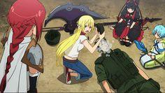 Gate : Thus the JSDF Fought There! Gate: Jieitai Kanochi nite, Kaku Tatakaeri GATE(ゲート)自衛隊 彼の地にて、斯く戦えり  Rory Mercury ロゥリィ・マーキュリー The Reaper  Youji Itami 伊丹 耀司, Tuka Luna Marceau テュカ・ルナ・マルソー   Raizo Senpai - GIF anime manga raizo senpai gif animegif anime gif For more visit: Tumblr @ http://raizo-senpai.tumblr.com/