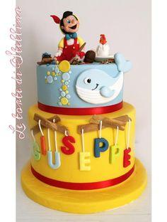Pinocchio cake by graziastellina