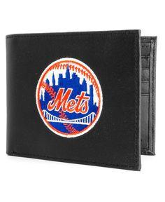 Rico Industries New York Mets Black Bifold Wallet