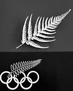 Iconic Silver Fern, via Flickr.