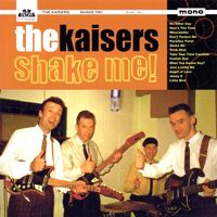 "400 BEATLESQUE Albums!___ ⬤ Sounds like WITH THE BEATLES: THE KAISERS, ""Shake Me!"" (2002).___ ➜ Click the pic to hear the 2 MUSIC PLAYERS!"