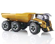 Volvo Centaur Futureristic Articulated Dump Truck