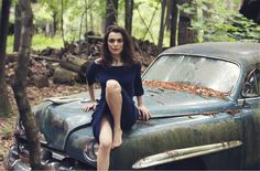 Cover Story | Rachel Weisz models the season's must-have knitwear and talks to…