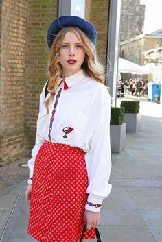 London Fashion Week street