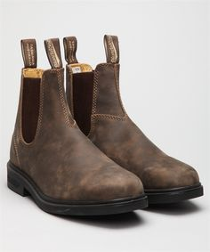 Buy Blundstone 1306 Dress Boot-Rustic Brown Shoes at Lester Store Online. We offer Blundstone 1306 Dress Boot-Rustic Brown Boots and other selected brands. Lester Shoes offers express delivery worldwide and secure payments. Brown Shoe, Brown Boots, Blundstone Boots Women, Buy Shoes, Me Too Shoes, Fashion Looks, Dress With Boots, Shoes Online, Chelsea Boots