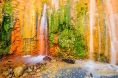 Cascade de Colores, La Palma, Canary Islands #canaryislands