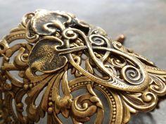 Statement Cuff Celtic Jewelry Bracelet by Serrelynda on Etsy, $62.00