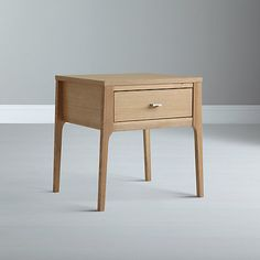 Buy House by John Lewis Maine 1-drawer Bedside Table Online at johnlewis.com