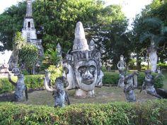#laos #buddhapark