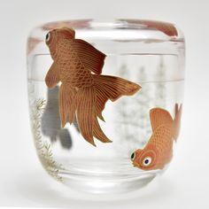 All Japanese, Tablewares, Japanese Tea Ceremony, Beautiful Fish, Moka, Japan Art, Fish Art, Goldfish, Manga Art