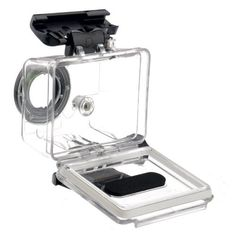 Goliton® Protective Housing Case Waterproof with Coated Glass Lens for Gopro Hero 1 and Gopro Hero 2