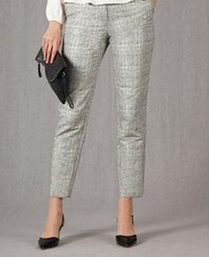 Womens Trousers Boden Cropped Metalic Jacquard - have these and are gorgeous on